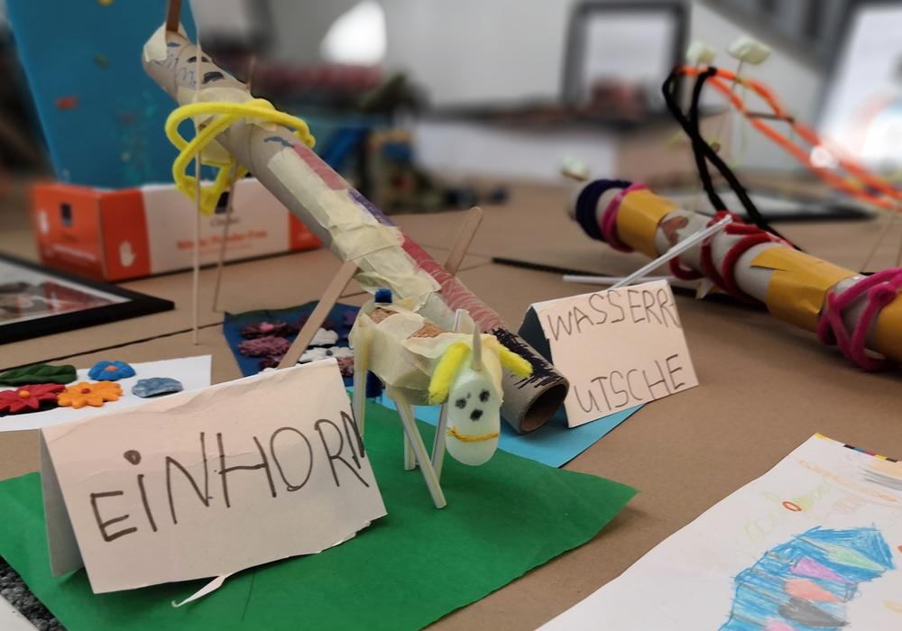 Die Ideen der Kinder stecken voller Fantasie. Foto:s Stadt Wolfenbüttel