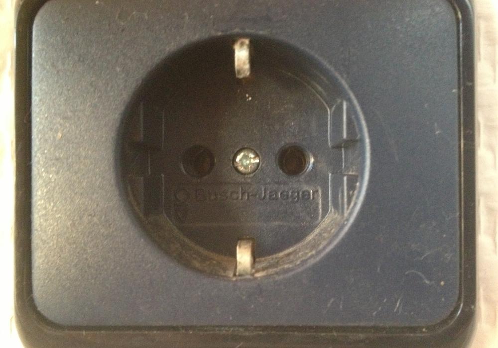 Der Strom kommt aus der Steckdose. Foto: Werner Heise