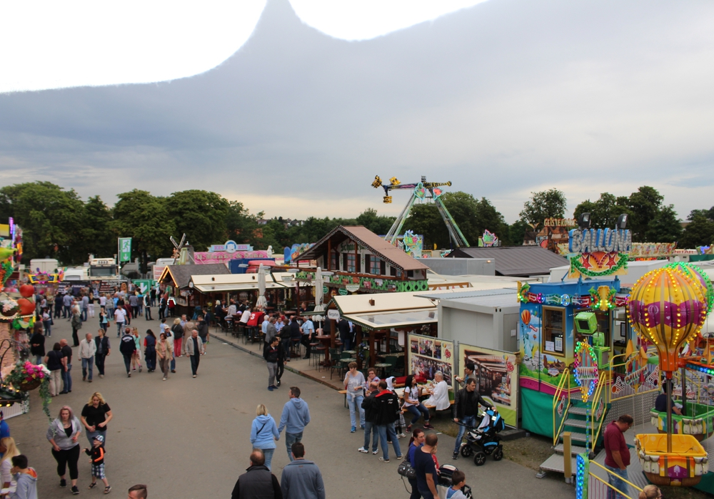 Das Schützenfest in Goslar ist eines der größten in der Region. Fotos: Alexander Dontscheff