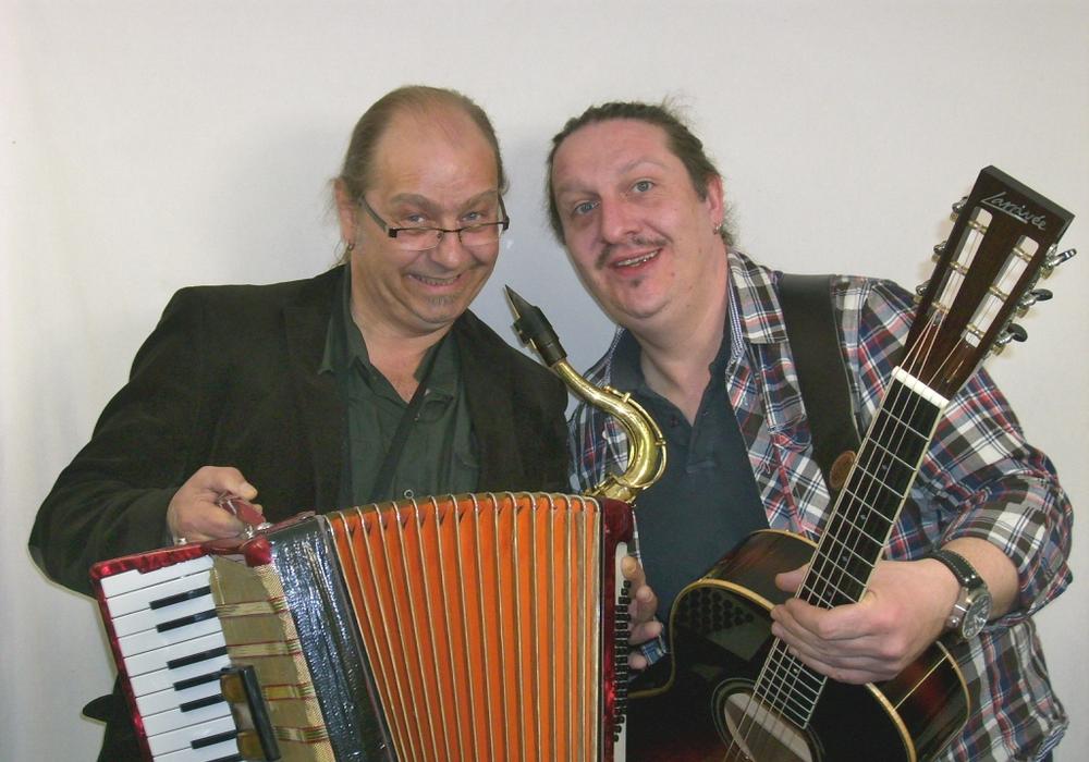 Das Duo Culinare tritt in Fredenberg auf. Foto: Fredenberg Forum