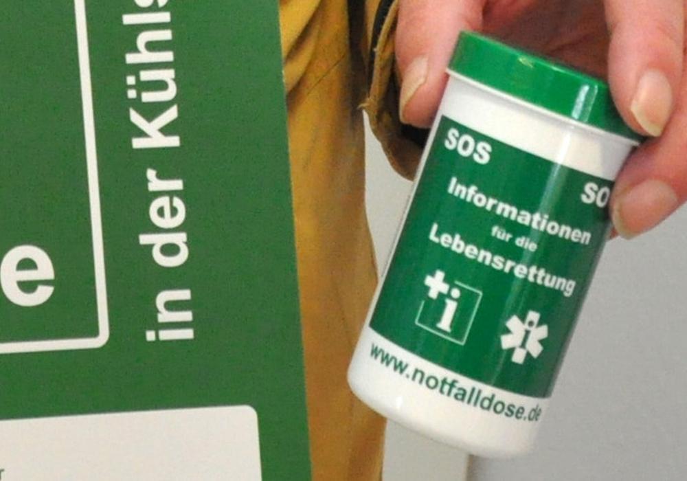Eine kleine Dose, die Leben retten kann. Foto: Privat