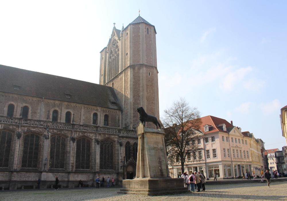 Braunschweiger Dom von Außen, Robert Braumann