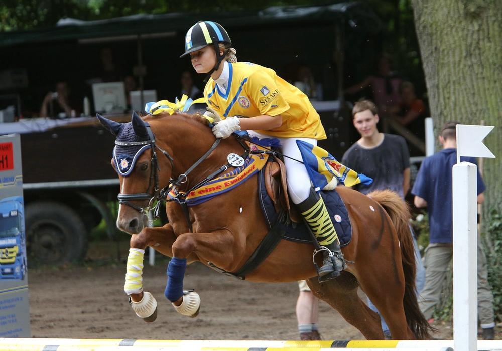 Zwei Tage lang haben Zuschauer die Möglichkeit, beim Gutsparkturnier Pferdesport der Extraklasse zu erleben. Foto: Privat