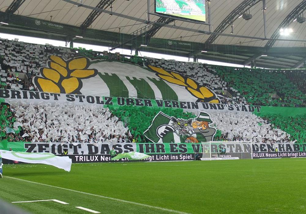 Die geplante Aktion der VfL-Anhänger sorgt auch für geschmacklose Reaktionen. Symbolfoto: Vollmer
