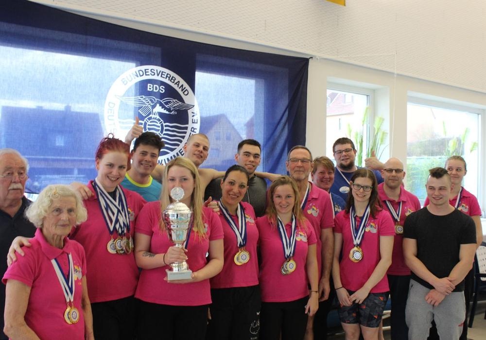 Gesamtsieger, Mannschaft der Stadtwerke Rendsburg. Fotos: Sascha Kühne