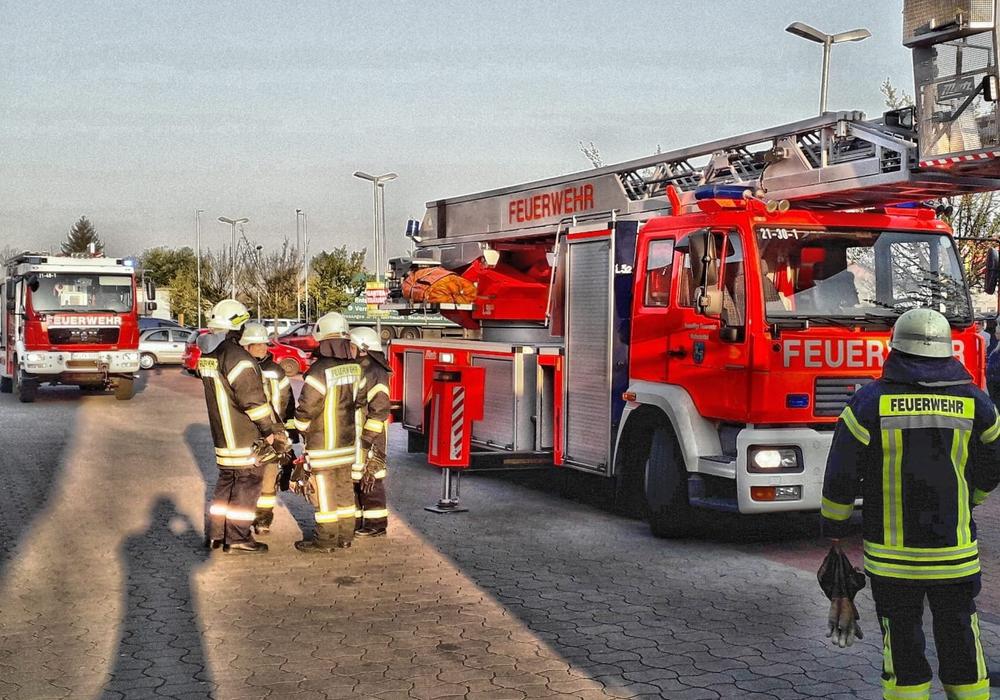 Am Neuen Weg konnte ein größerer Schaden verhindert werden. Foto: Stadtfeuerwehr-Presseteam/Michael Hoppmann