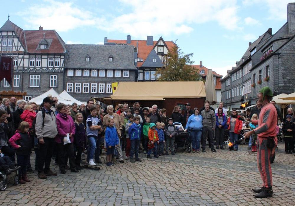 Beim Kaisermarkt hält das Mittelalter Einzug in Goslar. Archivfoto: Anke Donner