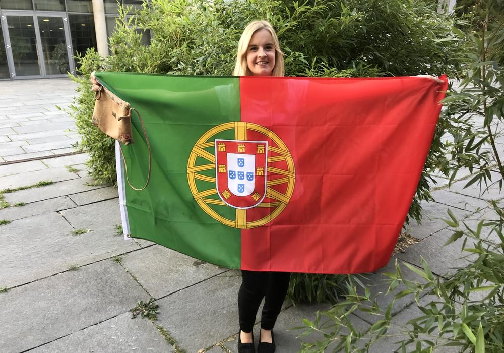 Der IFK förderte Vivian Bochem bei ihrem Studienaufenthalt in Portugal mit einem Stipendium. Foto: IFK