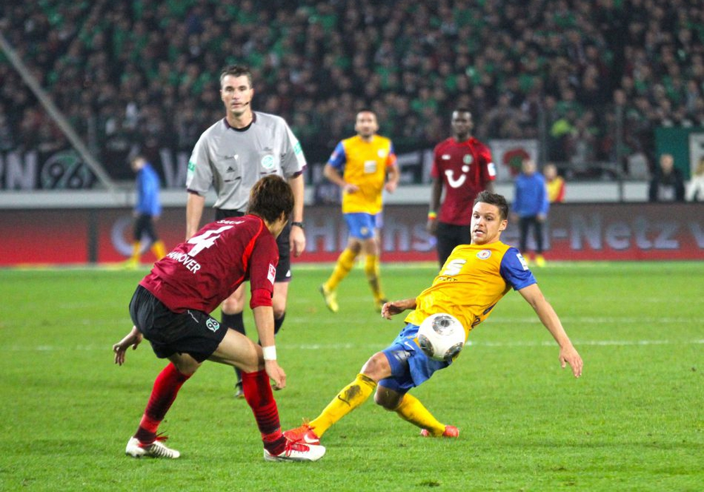 Kennt die Derby-Atmosphäre: Mirko Boland. Foto: Frank Vollmer