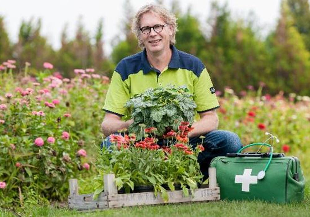 Schädlinge, Ungeziefer und Pflanzenkrankheiten sind das Spezialgebiet von Rene Wadas. Foto: Gärtnermuseum