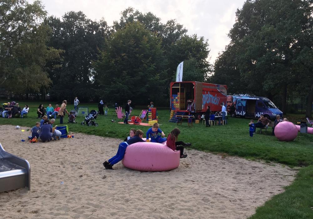 Das Spielmobil beendet seine Sommersaison. Foto: Stadt Wolfsburg