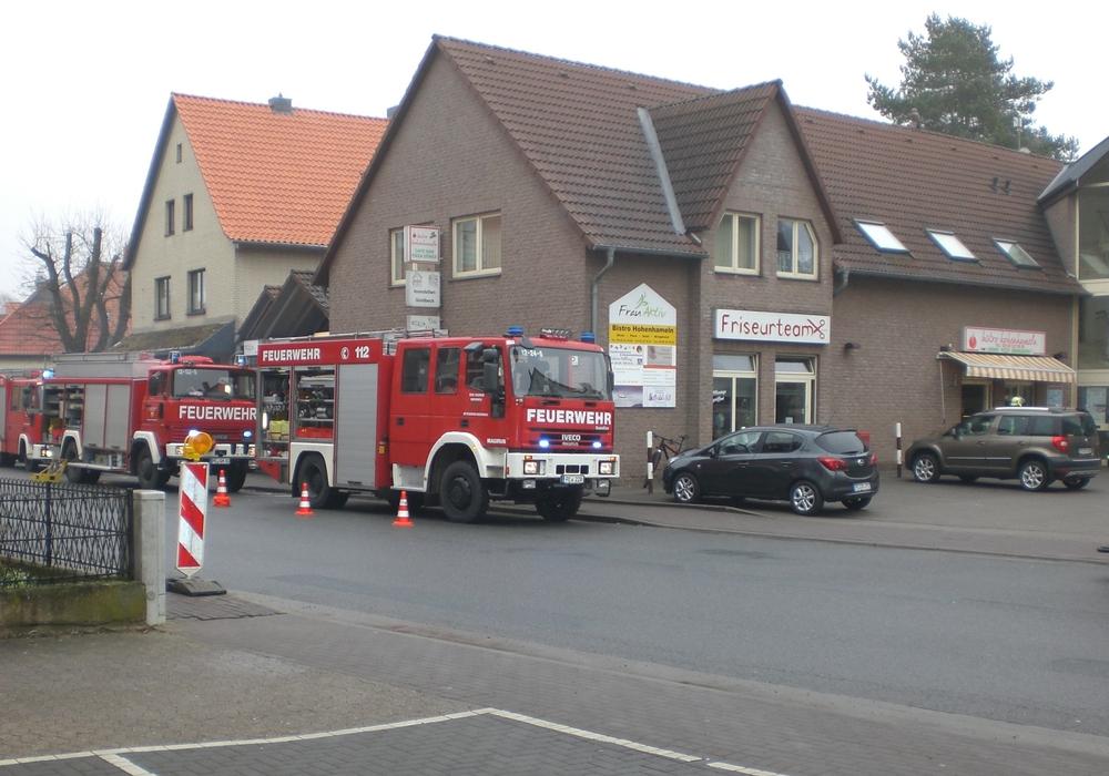 Einsatz in der Clauener Straße. Foto: Freiwillige Feuerwehr Hohenhameln