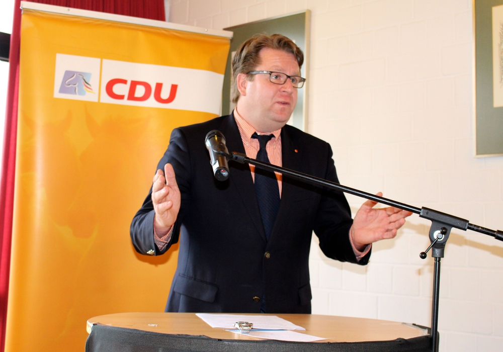 """MdB Carsten Müller: """"Großraum Braunschweig kann zum Klimaschutz-Leuchtturm werden"""". Foto: Archiv"""
