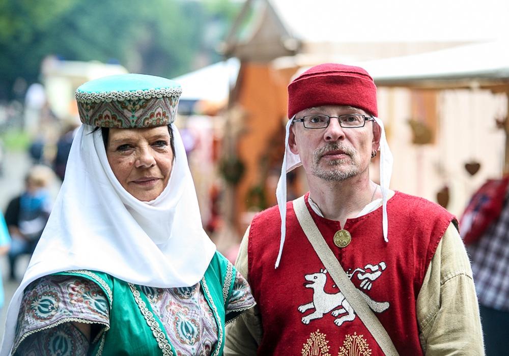 Das Mittelalter hält Einzug in Wittmar. Foto: Thorsten Raedlein
