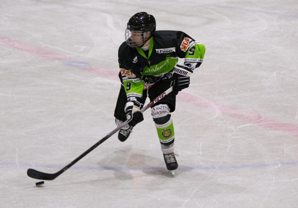 Luca Häufler erzielte den einzigen Treffer für die Icefighters. Foto: Jens Bartels