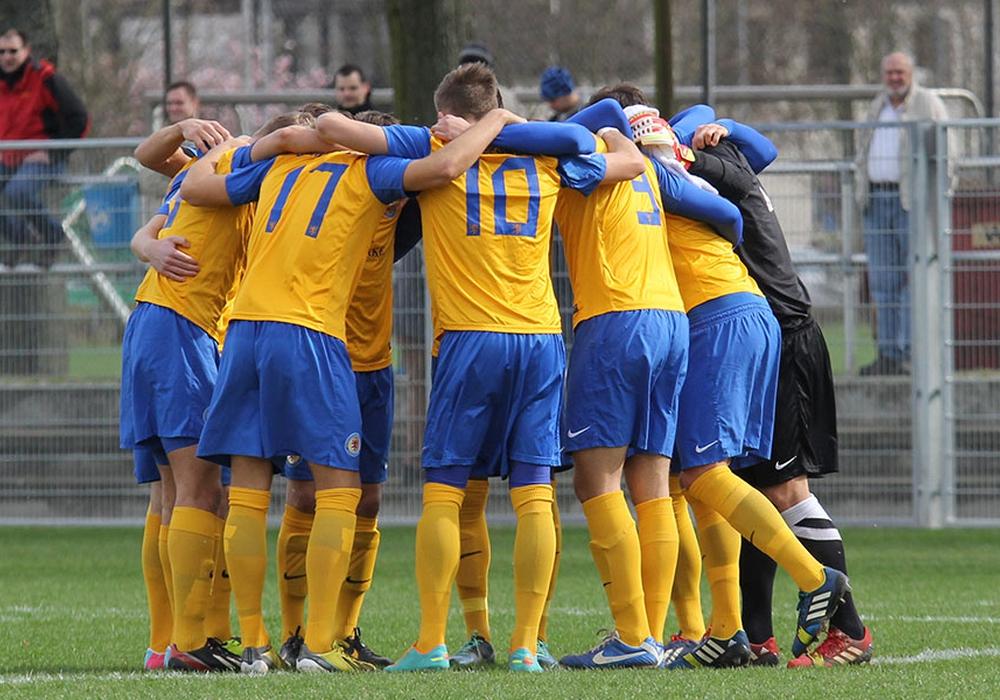 Im Livestream: Eutin 08 gegen Eintracht U23. Foto: Vollmer