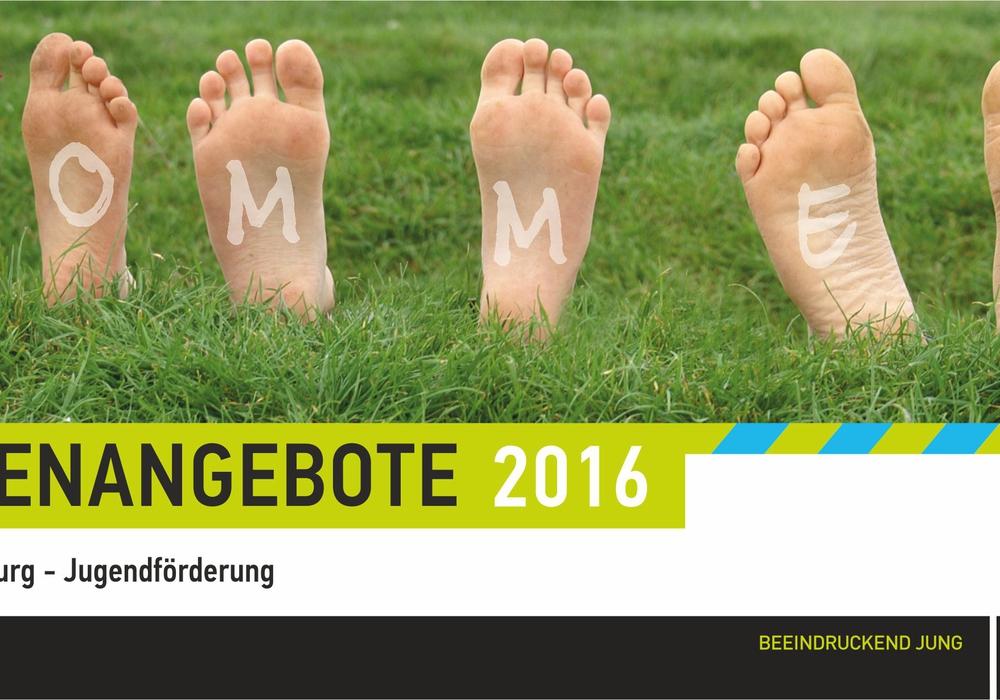 Die Jugendförderung bietet zahlreiche Aktionen für den Sommer an. Grafik: Stadt Wolfsburg