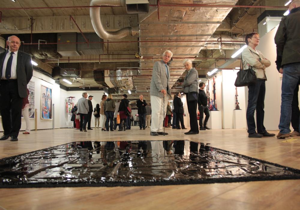 2013 und 2014 lockte ArtGeschoss in Wolfenbüttel mit der Ausstellung zeitgenössischer Kunst tausende Besucher an. Foto: Werner Heise