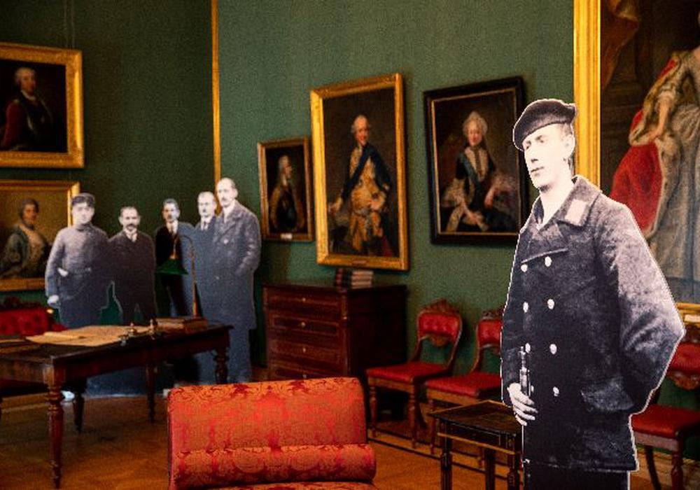 Revolutionäre im Schloss Foto: Schlossmuseum/Marek Kruszewski