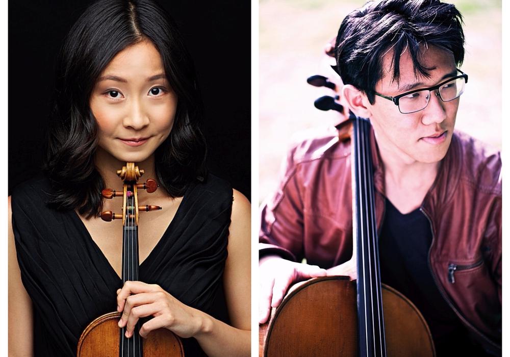Yuliia Van (Violine) und Stanislas Kim (Violoncello). Fotos: Veranstalter