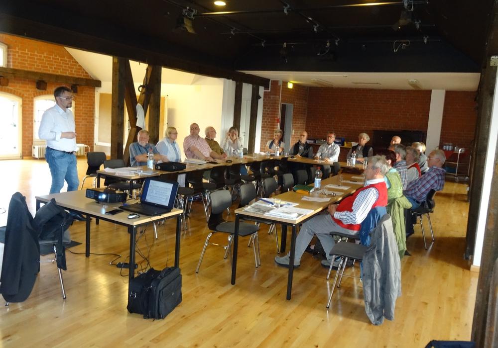 In der vergangenen Woche trafen sich die Mitglieder der Aktionsgemeinschaft Altstadt zu einer offiziellen Versammlung. Foto: Dieter Kertscher