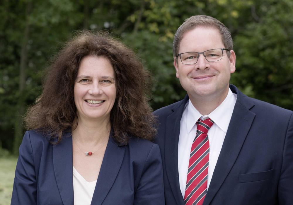 Susanne Fahlbusch und Marcus Bosse. Foto: SPD