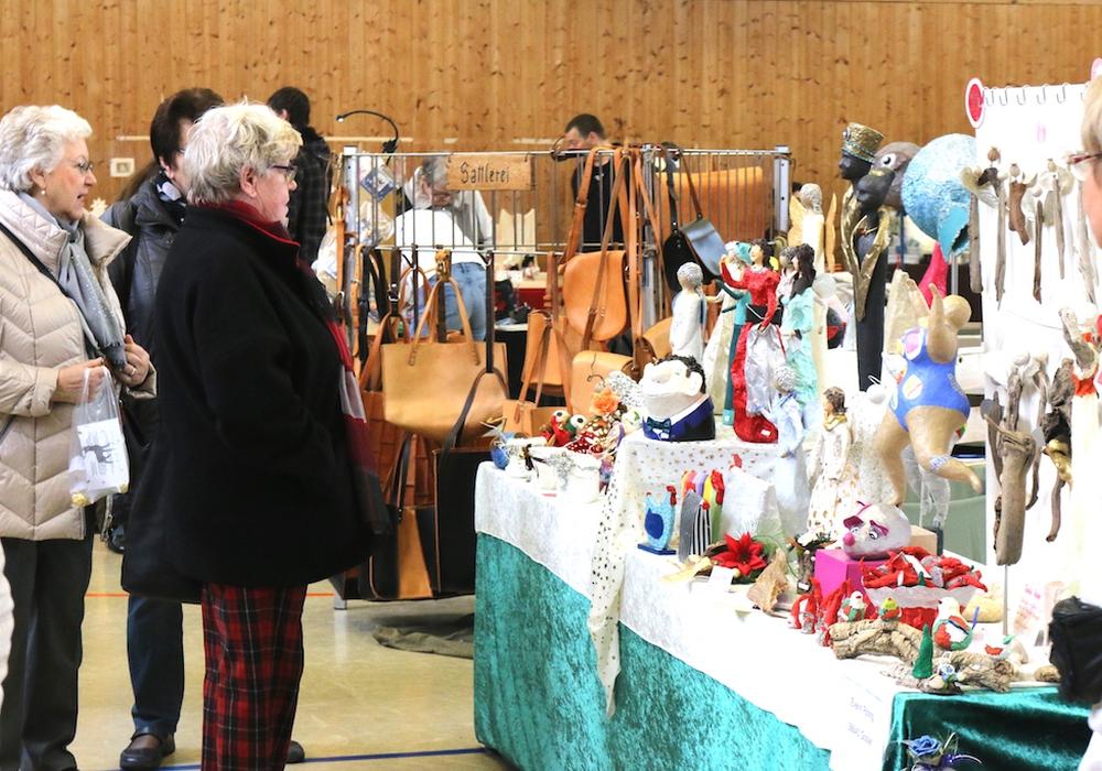 Am 21. und 22. Oktober findet wieder der Raabe-Markt statt. Hier werden rund 55 Kunsthandwerker uasstellen. Fotos: Werner HeiseFoto:
