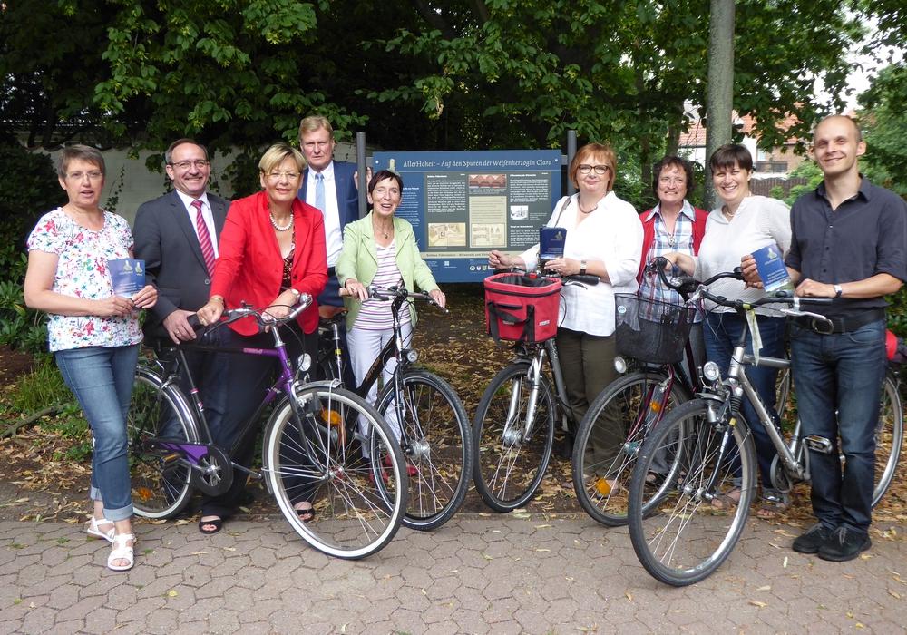 Das Team, das für die Koordination zuständig ist. Foto: Stadt Wolfsburg