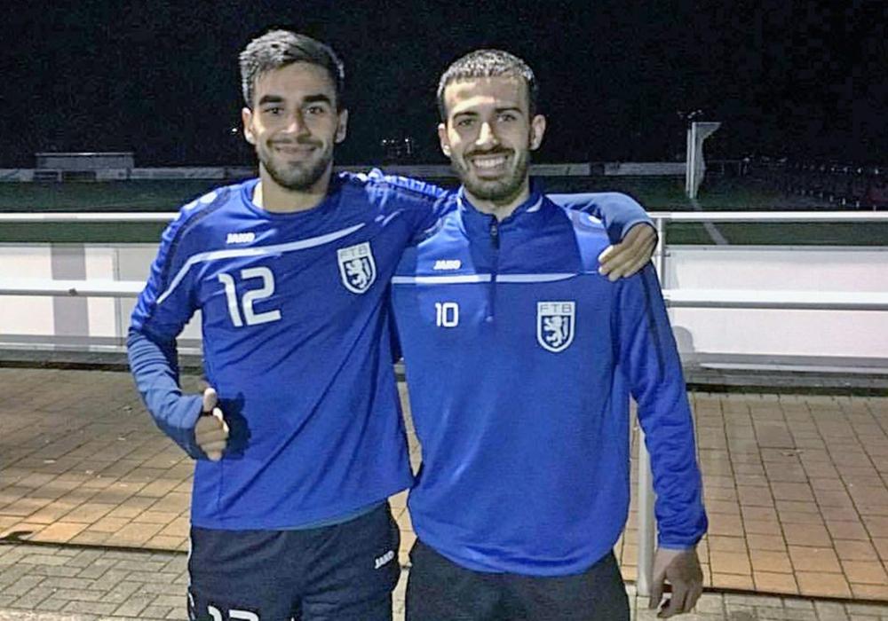Schon Freunde: Masirullah Omarkhiel und Cristian Mayoral (re.). Foto: privat