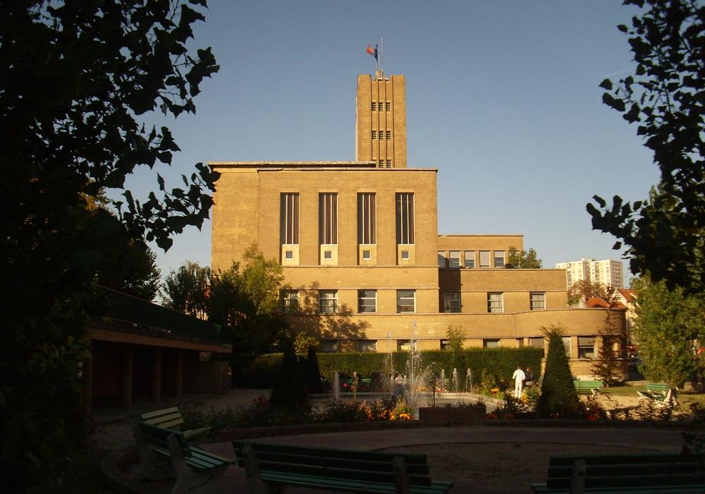 Das Rathaus von Cachan, Hotel de Ville. Foto: Dieter Lorenz