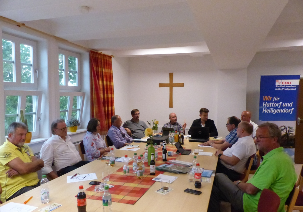 Die CDU Fraktion beendete am vergangenen Montag ihre Sommerpause und traf sich zur ersten Sitzung in Hattorf. Foto: CDU Wolfsburg
