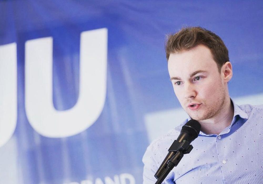Maximilian Pohler äußert sich zur Forderung nach einer Stärkung des Zentralen Ordnungsdienstes. Foto: Junge Union Kreisverband Braunschweig