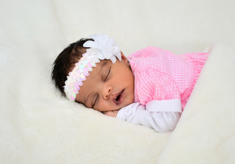 Willkommen, Maria Anesu. Foto: babysmile24.de
