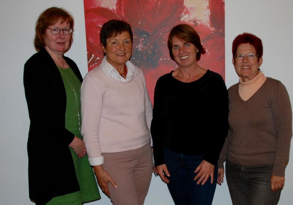 Aus dem Vorstand des Vereins: Wiebke Härtel, Uschi Kröll, Beate Schwarze und Dörthe Weddige-Degenhard, Foto: Privat