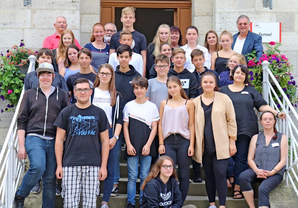 Die 24 Schüler zogen nach der Projektwoche ein positives Fazit. Foto: AWO
