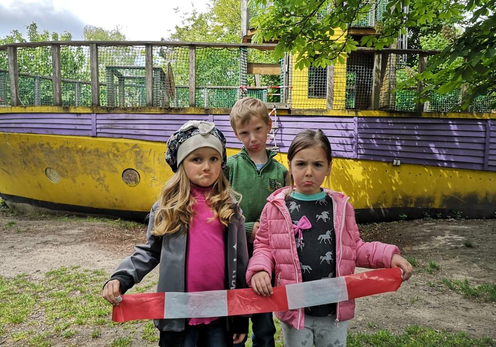 Traurige Kindergesichter sollen durch die Rettung des Bootes gegen freudige getauscht werden. Foto: Karoline Armbrecht