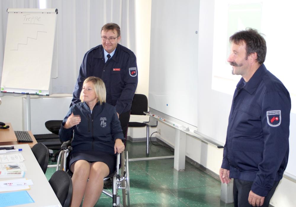 Auch Rollenspiele standen auf dem Seminarplan. Fotos: Andreas Meißner