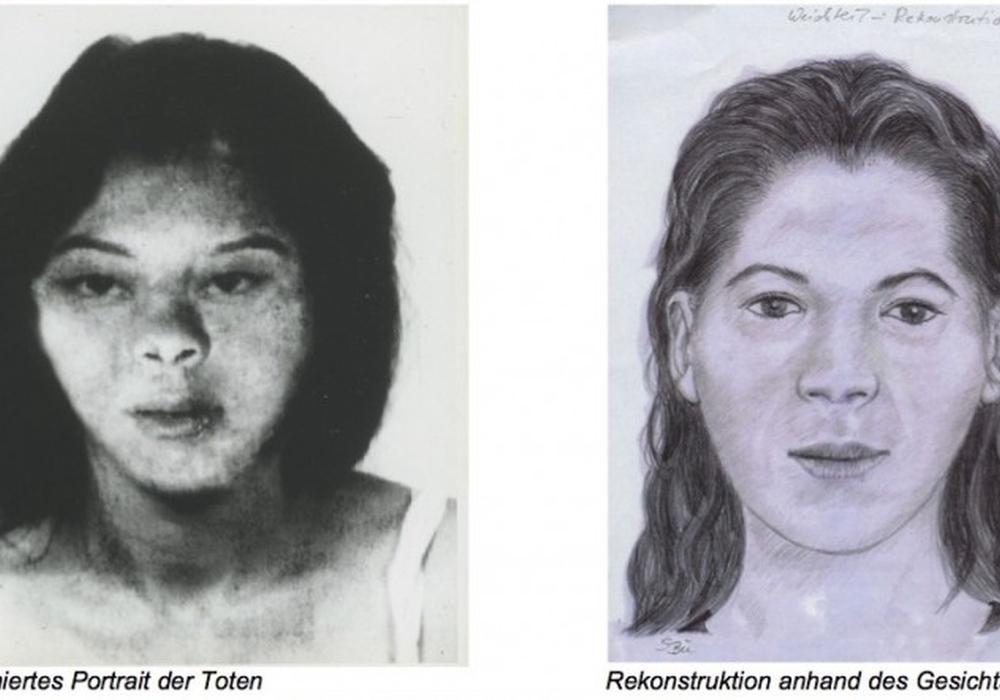 Zwei Zeichnungen existieren, die Polizei vermutet, dass das Aussehen der Frau sich in diesem Bereich bewegt. Foto: Polizei Gifhorn
