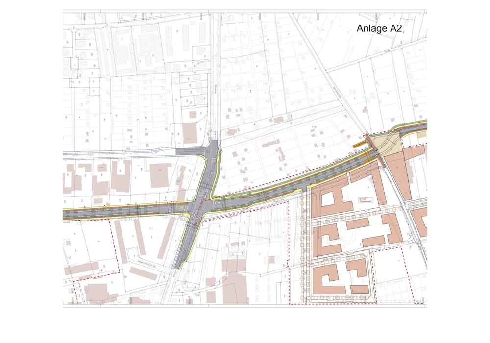 Am Bienroder Weg soll die neue Stadtstraße enden. Foto: Stadt Braunschweig