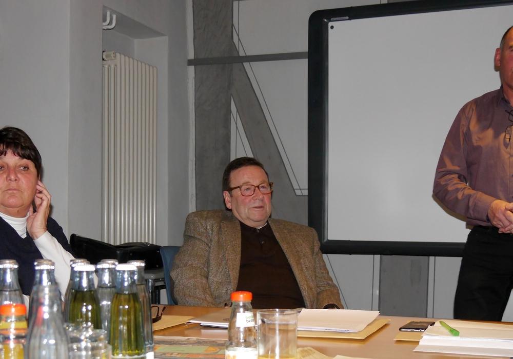 Birgit Oppermann, Winfried Pink und Klaus Dünwald. Foto: privat