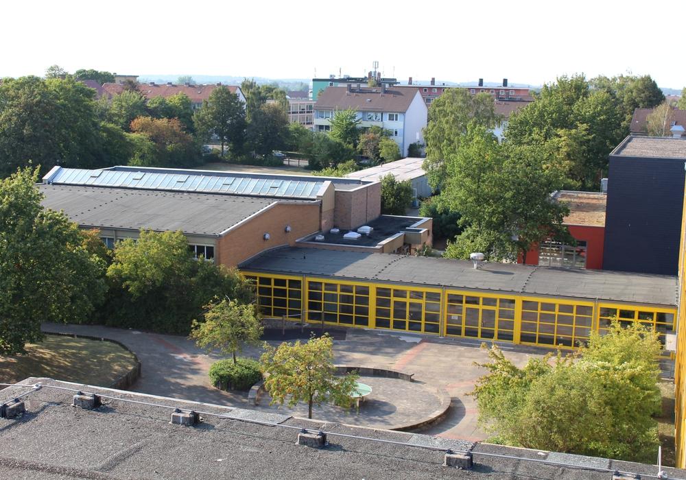 Das Theodor-Heuss-Gymnasium. Foto: Archiv/Kai Baltzer