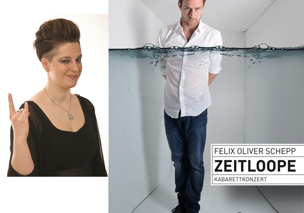 Liese-Lotte Lübke und Oliver Schepp treten auf. Foto: Privat