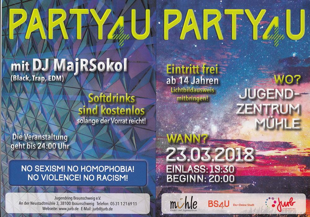 Flyer: Jugendring Braunschweig