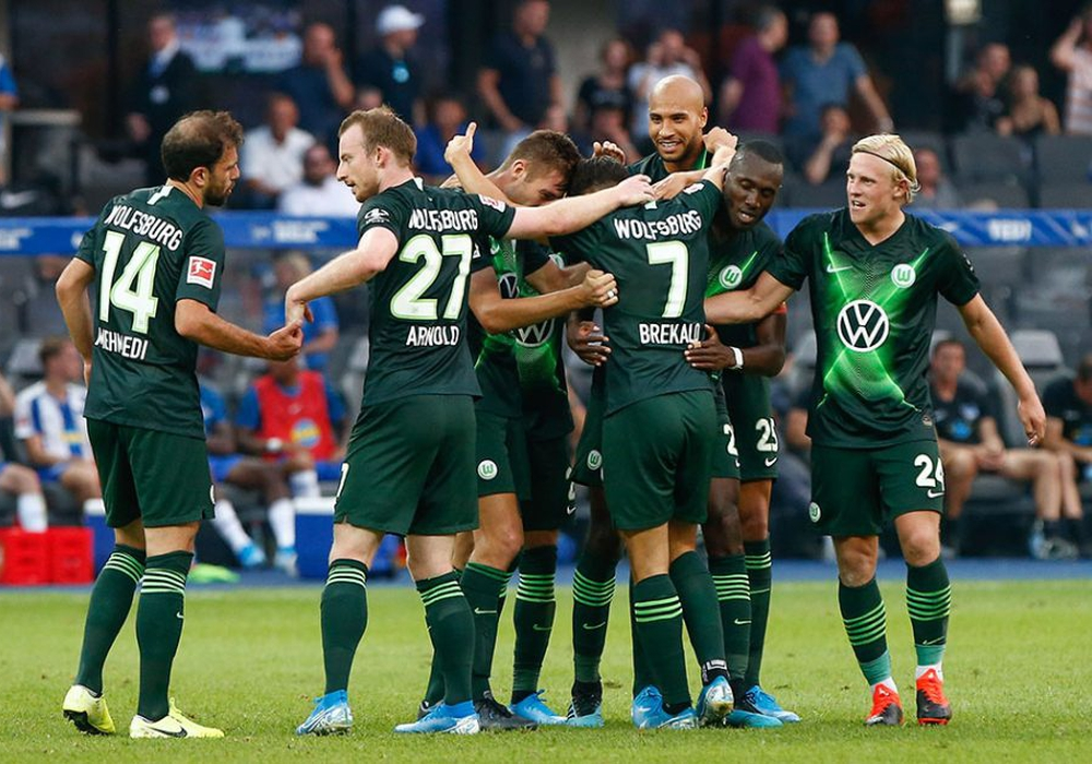Perfekter Start: Zweiter Sieg für den VfL Wolfsburg in Berlin. Fotos: Michael Täger