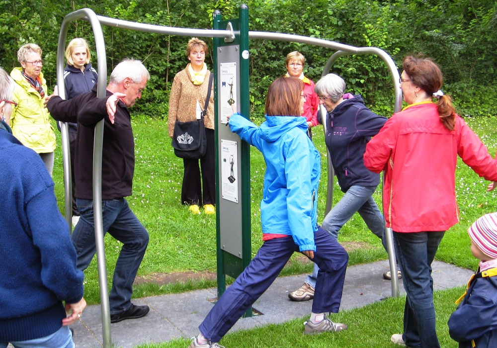 Der zweite TREFFPUNKT Fitness fand regen Zulauf. Foto: Stadt Wolfenbüttel