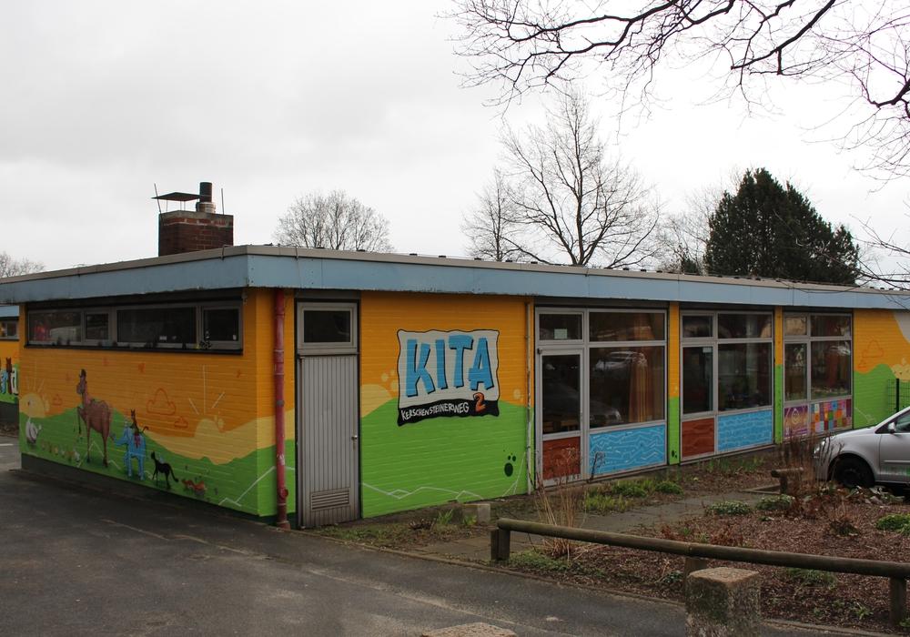 Neues Dach für die Kindertagesstätte Kerschensteinerweg. Foto: Max Förster