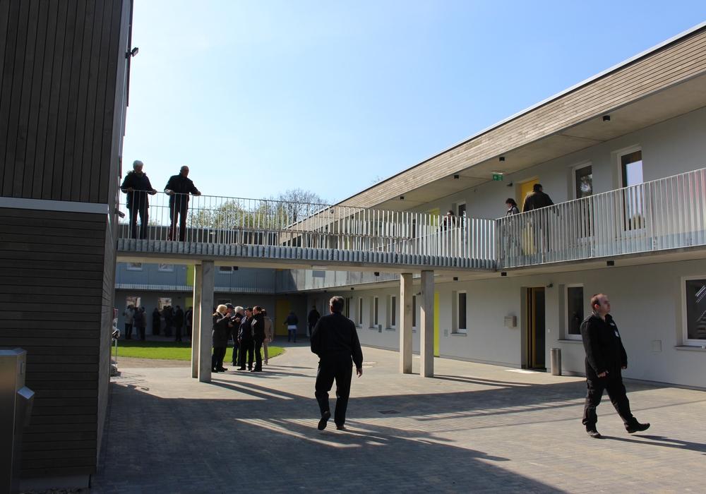 In dieser Flüchtlingsunterkunft fand der Angriff statt. Foto: Archiv/Nick Wenkel