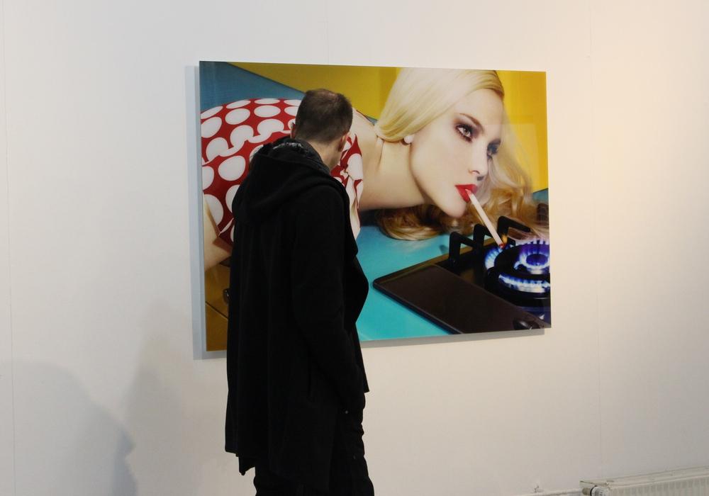 Auf der Ausstellung sind zahlreiche hochwertige Fotografien zu sehen. Foto: Frederick Becker