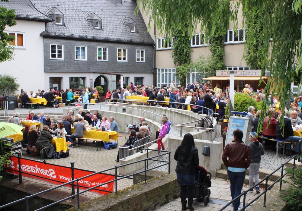 """Ab 5. April können Plätze für das beliebte Bürgerfrühstück """"Lange Bank"""" gesichert werden.  Foto: Anke Donner"""