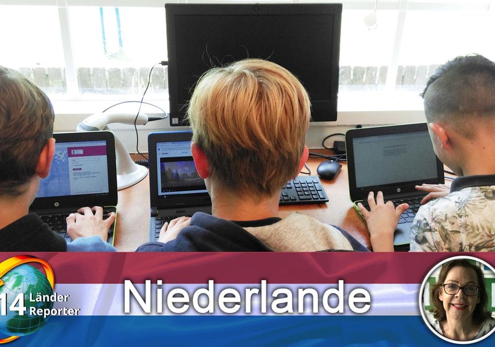 Gescheitert: reine Laptop-Schulen, in denen die Schüler auch bestimmen, was und wann sie lernen. Quelle: Focus, Petra Apfel/FOL